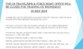 Dts Army Help Desk Ntc G8 Travel Mprp7 Force Mgt Office National Training Center