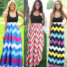 casual colorful maxi dresses with sleeves dress images