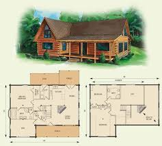 cabin floor plans fresh log home floor plans with loft new home plans design