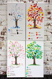 beautiful kids crafts creat the trunks in peace and lay out the