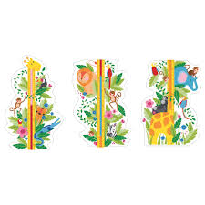 wall decals stickers ikea klAtta decorative stickers jungle height chart length 53