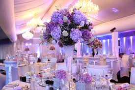 wedding table decor purple wedding table decorations
