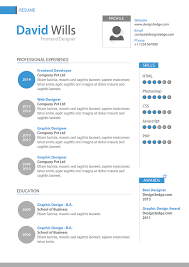 Graphic Design Resume Template Download Interior Designer Resume Resume Template Flat Design Vector Free