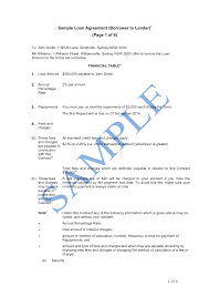 10 Vendor Agreement Templates Free Money Lending Contract Template Process Makes It Easy To Create