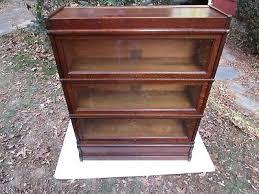 Globe Wernicke Bookcase 299 Antique C 1910 Signed Globe Wernicke 299 Tiger Oak 43 Stack