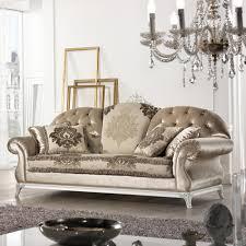 canapé fabriqué en canapé italien 2 places en tissu de style baroque liberty