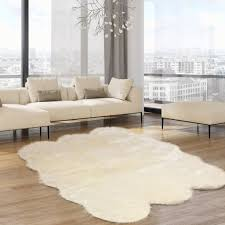 flooring faux bearskin rug fake fur rugs ikea fur rug