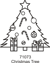 christmas tree color ons colorable iron heat transfer