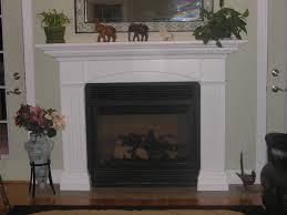 painting stone fireplace white junsaus gray stone fireplace