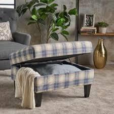 fabric pattern ottoman