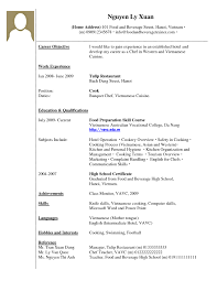 Resume Job Title Format by Example Of Resume Job Experience