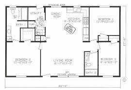 open home floor plans fresh 4 bedroom 3 bath open house plans house plan