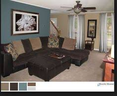 Paint Colors For Living Room With Brown Furniture Brown And Blue Living Room The Best Living Room Paint Color