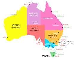 map of australia political australia political map simple of and capital cities lovely at