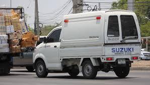 suzuki pickup truck chiangmai thailand may 7 2016 private pick up truck suzuki carry