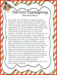 thanksgiving story for thanksgiving printable history story for
