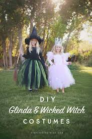 a lot of halloween costumes diy glinda and wicked witch of the west halloween costumes