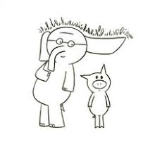 Elephant And Piggie Coloring Page Kid Stuff Pinterest Mo Mo Willems Coloring Pages