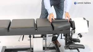 chiropractic drop table technique omni total drop chiropractic table operation youtube