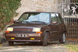 renault 5 renault 5 baccara 1987