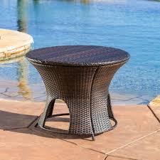 alexandria wicker outdoor storage ottoman table u2013 nhmodern