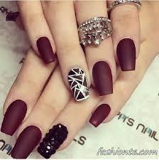 Can You Black With Color 35 Maroon Nails Designs Nenuno Creative