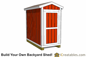 Backyard Shed Ideas 4x8 Backyard Shed Plans Icreatables