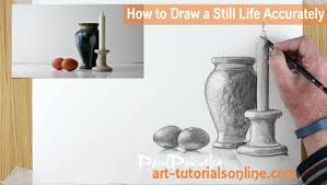 how to draw a still life accurately part 3 youtube