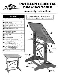Adjustable Drafting Table Hardware Table Archaicfair Drafting Table Parts Prince Furniture Pavillon