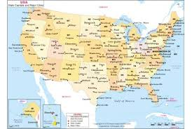 us map by states and cities map of usa with capitals and major cities usa maps us country maps