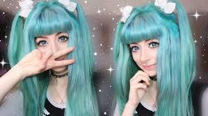 anime hairstyles tutorial easy anime hair tutorial misa amane youtube