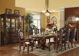 acme 11 piece vendome dining set cherry finish u2022 usa furniture online