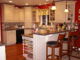 white tile mural ceramic backsplash kitchen makeover beige tile