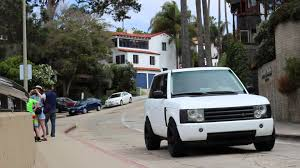 white and gold range rover matte white range rover hse youtube
