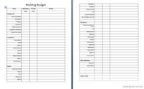 wedding expenses wedding wednesday begin planning simplify the chaos