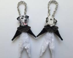 items similar to dalmatian ornaments ornaments