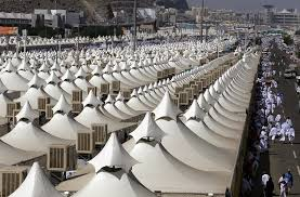 air conditioned tent saudi arabia has 100 000 air conditioned tents that can house 3