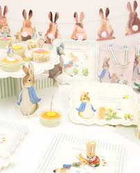 rabbit party supplies rabbit party ideas for easter party delights