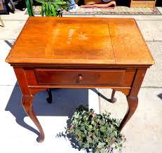 solid wood sewing machine cabinets vintage fredsuniquefurniture
