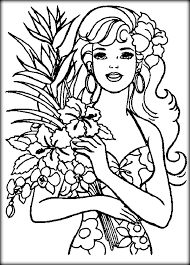 disney barbie thumbelina coloring pages color zini