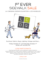 lcdq u0027s first ever sidewalk sale oct 6 and 7 lcdq