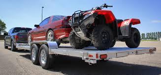 widebody truck 8200 wide body tandem utility trailers aluma trailers