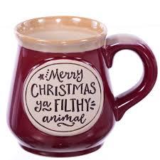 Animal Mug Merry Christmas Ya Filthy Animal Mug Home Alone Retrofestive Ca