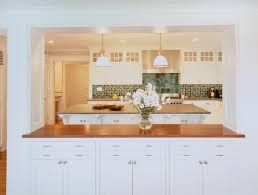 Kitchen Pass Through Design Fresh Traditional Kitchen Boston By Hart Associates