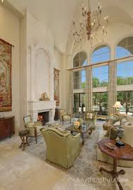 2 story living room 2 story living room with diamond plaster finish on walls and ceiling