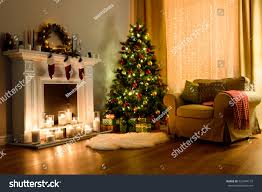 Cozy Living Rooms by Cozy Living Room Lighted Numerous Lights Stock Photo 520944133