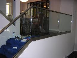 Glass Banisters Cost Glass Railings Staircases And Fences In San Diego Discount