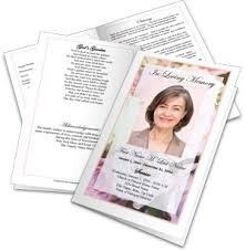 where to print funeral programs make a funeral program create funeral programs
