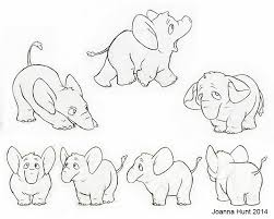 elephant sketches joanna hunt u0027s art and stuff