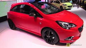 opel paris 2015 opel corsa turbo opc line exterior and interior walkaround